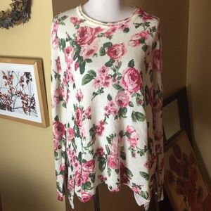 SHOW ME YOUR MUMU sz LARGE Roses oversized $145NEW